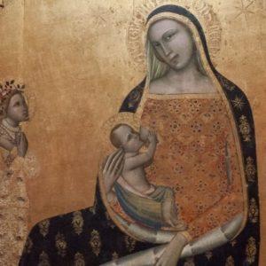 La madonna dell'Umiltà di Ghissi temporaneamente al museo diocesano