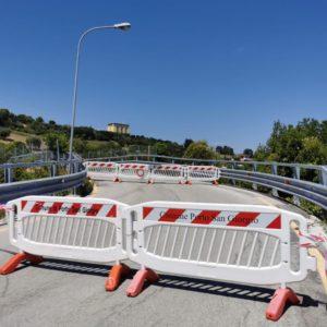 Porto San Giorgio. Resta interdetto al traffico il cavalcavia di via Beato Angelico