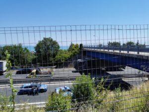 Incidente in A14. Chiuso il tratto Civitanova-Porto San Giorgio verso sud. Code in a14 e caos sulla Statale 16