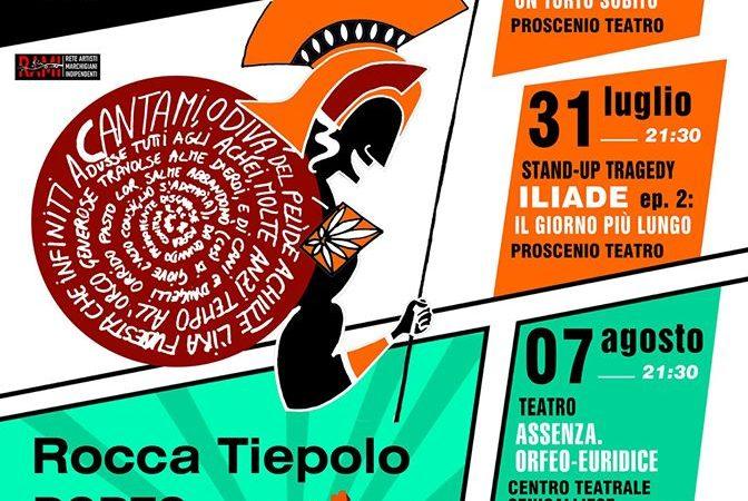 TAU a Rocca Tiepolo. Stasera il secondo appuntamento con la Stand Up Tragedy