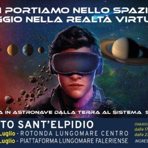 Virtualmente nello spazio. A Porto Sant'Elpidio l'evento per viaggiare virtualmente nella Galassia