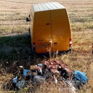 Fermo. Abbandono di rifiuti. Recuperato materiale pericoloso. Denunciato il responsabile