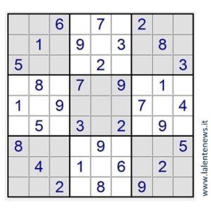 Lezioni di sudoku: dalla teoria alla pratica (seconda parte)