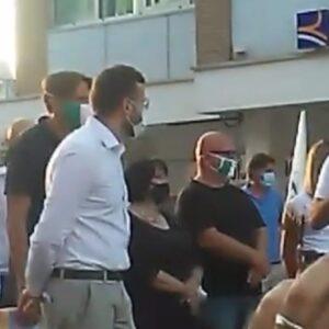 """Salvini presenta i candidati della Lega. Giacobbi: """"Siamo qui per metterci la faccia"""""""