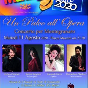 Un palco all'opera. Musica e belcanto questa sera a Montegranaro