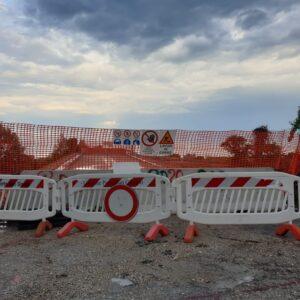 """Cavalcavia demolito, il giorno dopo. Già si pensa alla ricostruzione. Marco Perna di Aspi: """"Faremo tutto il possibile per accelerare"""""""