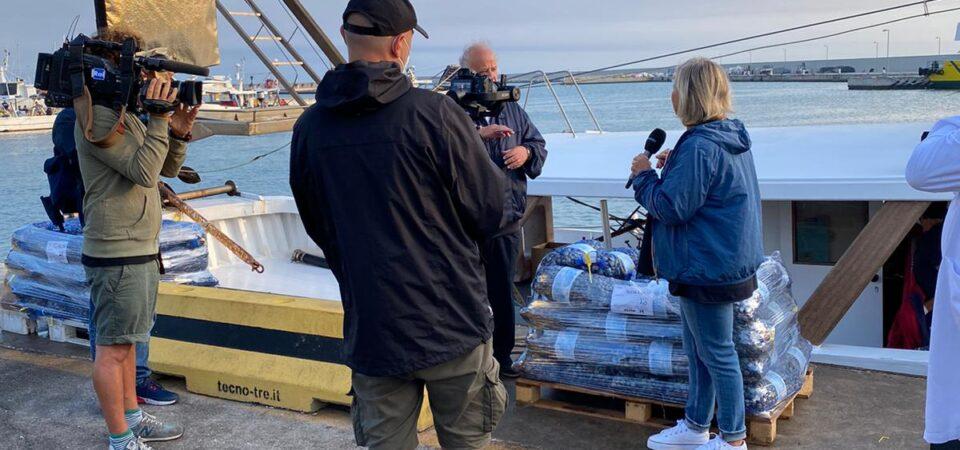 Porto San Giorgio in onda su Rai 1 con Linea Blu. Sabato 17 la puntata registrata il mese scorso