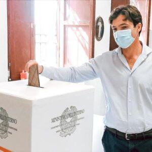"""Le Marche a destra. Vince Francesco Acquaroli. Il neo-Governatore: """"Sarò inclusivo. Lavorerò per le Marche"""""""