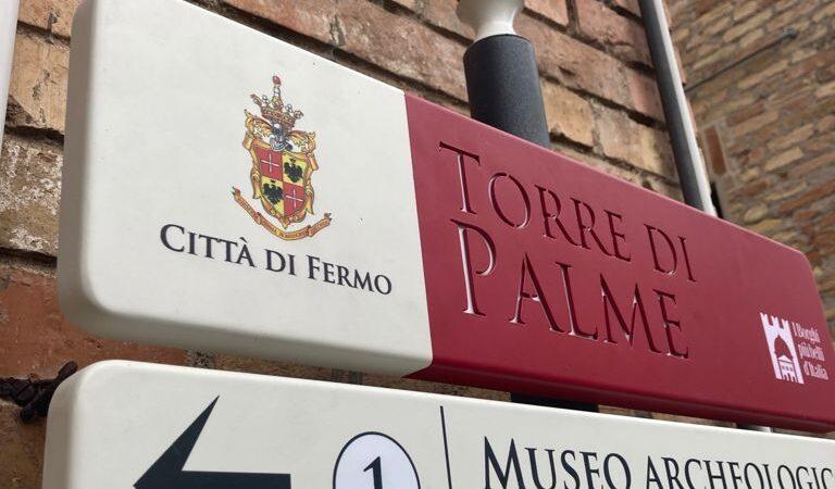 Torre di Palme. Nuova Segnaletica Turistica. Indicate tutte le bellezze del Borgo