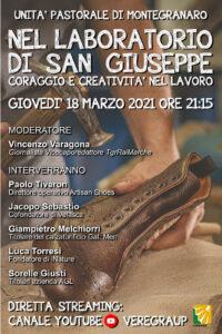 Festa di San Giuseppe. Questa sera confronto online sui temi del lavoro a cura dell'Unità pastorale di Montegranaro